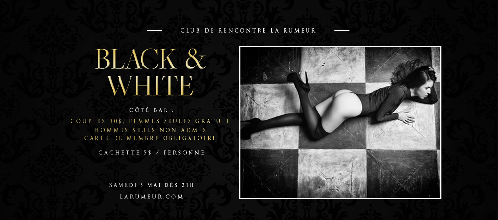 Site de rencontre black et white
